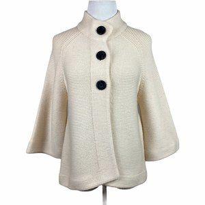 Banana Republic Chunky Knit Cardigan Sweater Wool